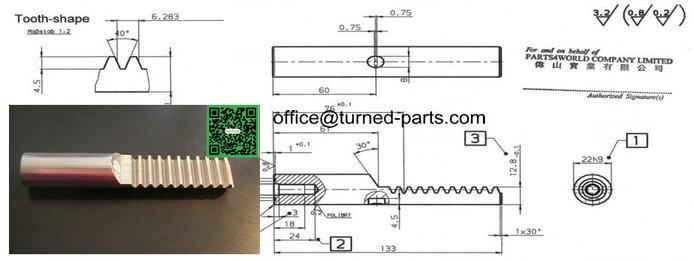 custom stainless steel turned parts