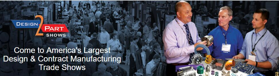 America's Largest Design & Contract Manufacturing Trade Shows!