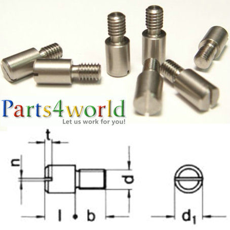 DIN927 Slotted head stainless steel Shoulder Screw Bolts