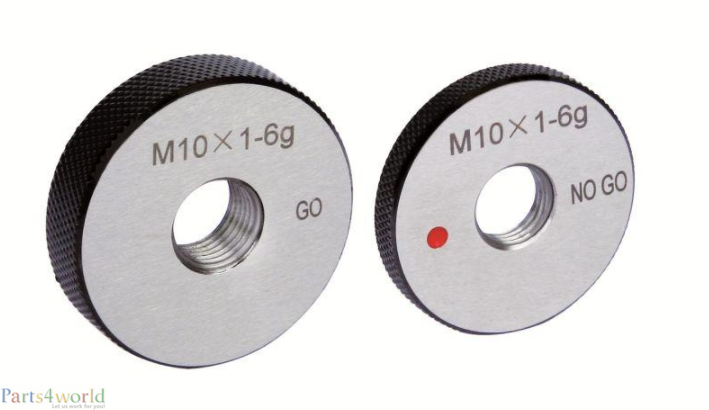 GO NO-GO ring gauges for outer threads